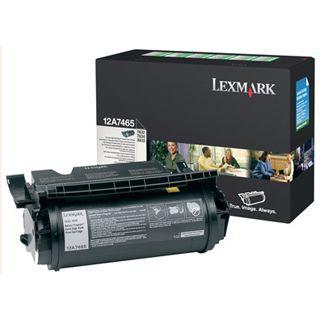 Lexmark Toner 12A7610 Schwarz