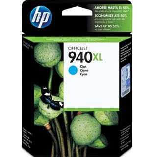 Hewlett Packard C4907AE Nr.940XL cyan 28ml
