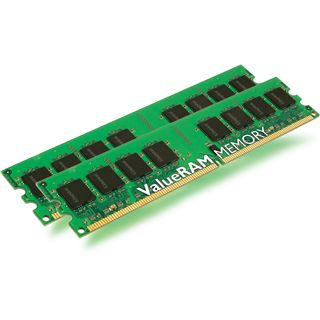 4GB Kingston ValueRAM DDR2-400 regECC DIMM CL3 Dual Kit