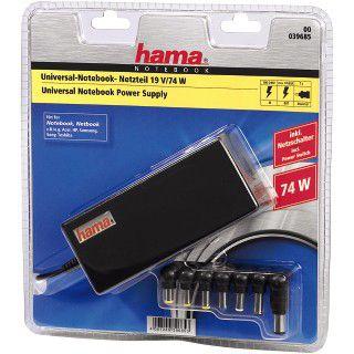 Hama Universal-Notebook-Netzteil, 19 V/74 W