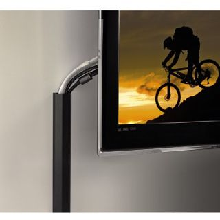 Hama Aluminium-Kabelkanal schwarz 1100x50x26mm für (00083164)