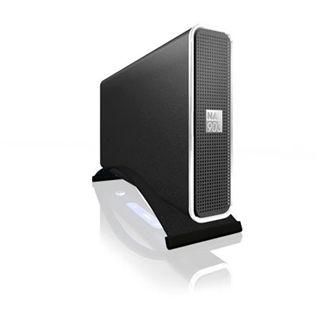"3.5"" (8,89cm) Icy Box NAS903 LAN SATA USB 2.0 Schwarz"
