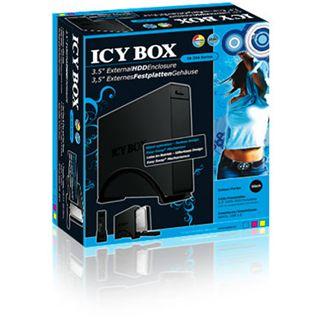 """3.5""""(8,89cm) Icy Box IB-366StUS2-B eSATA USB 2.0 Schwarz"""
