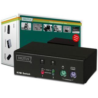 Digitus DS-11110 2-fach Desktop KVM-Switch