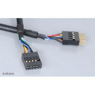 Akasa Interne USB-Verlängerung - 40cm