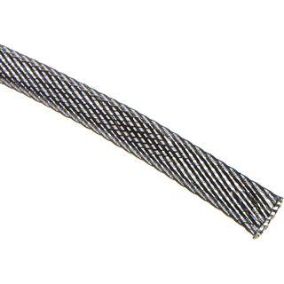 (€4,90*/1m) King Kits 1.00m Gewebeschlauch 9mm Carbon