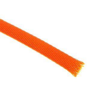 (€4,90*/1m) King Kits 1.00m Gewebeschlauch 9mm Orange