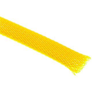 (€4,90*/1m) King Kits 1.00m Gewebeschlauch 13mm Neon Gelb