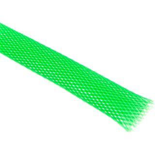 (€4,90*/1m) King Kits 1.00m Gewebeschlauch 13mm Neon Grün
