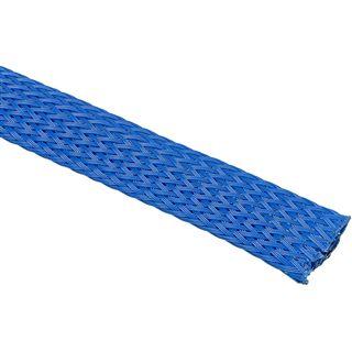 (€4,90*/1m) King Kits 1.00m Gewebeschlauch 13mm Blau