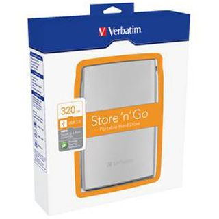 "320GB Verbatim Store and Go Portable 53001 2.5"" (6.4cm) USB 2.0 silber"
