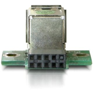 Delock 9pol USB 2.0 Adapter für 2x USB 2.0 Buchse (41764)