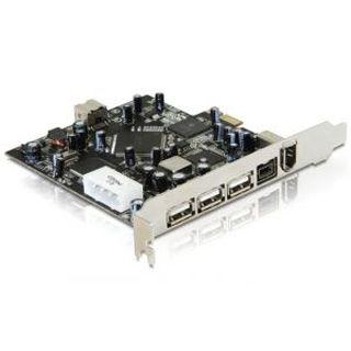 DeLock Combo USB 2.0 und und FireWire PCI Express