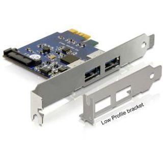 DeLock PCI Express Karte > 2 x USB 3.0, 89246