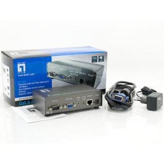 LevelOne Audio/Video Cat.5 Transmitter, AVE-9201