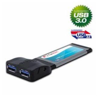 Fantec Express Card Express Card, 2x USB3.0