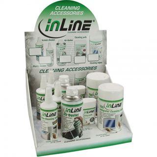 (€21,06*/1L) InLine Computer Reinigungskit 1,8L Dose/Pumpspray/Spraydose (43212)