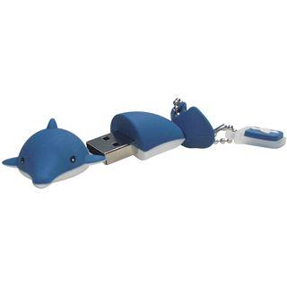 2 GB EMTEC Animals M315 Dolphin blau USB 2.0