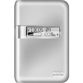 "320GB WD My Passport Studio 2.5"" (6.35cm) Silber USB2.0"