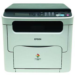 Epson AcuLaser CX16NF Multifunktion Laser Farb Drucker 1200x600dpi LAN/USB2.0