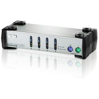 ATEN Technology CS84A 4-fach VGA-KVM-Switch