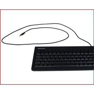 KeySonic KSK-6001UELX USB Deutsch schwarz (kabelgebunden)
