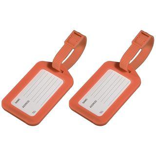 Hama Gepäckanhänger 2er-Set, Orange