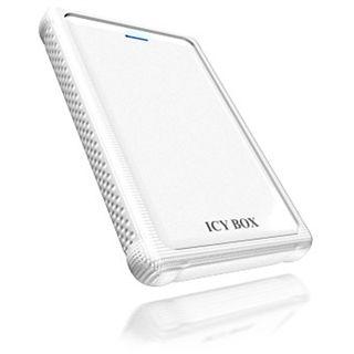 """2.5""""(6,35cm) Icy Box IB-223STU Wh SmartAP SATA USB 2.0 weiß"""