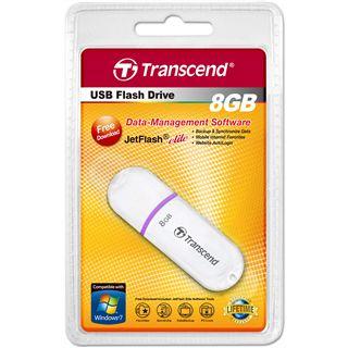 8 GB Transcend JetFlash 330 weiss USB 2.0