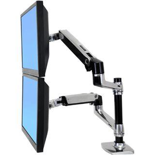 Ergotron 45-248-026 Tischhalterung für 2 Monitore (45-248-026)