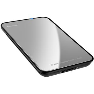 "Sharkoon QuickStore Portable 2.5"" (6,35cm) USB 3.0 silber"
