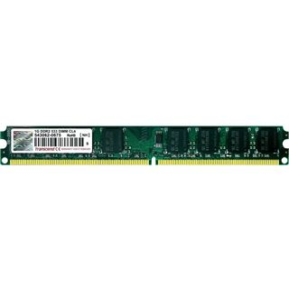 1GB Transcend Value DDR2-533 DIMM CL4 Single