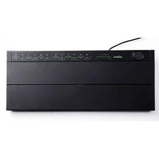 Perixx Periboard 309EL Touch Lighting Tastatur Schwarz Deutsch USB