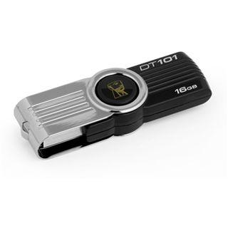 16 GB Kingston DataTraveler 101 G2 schwarz/silber USB 2.0