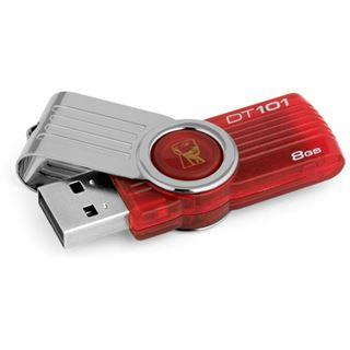 8 GB Kingston DataTraveler 101 G2 rot USB 2.0