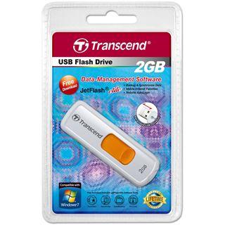2 GB Transcend JetFlash 530 weiss USB 2.0