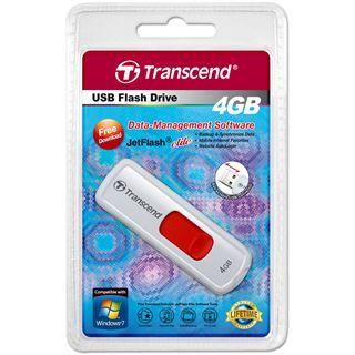 4 GB Transcend JetFlash 530 weiss USB 2.0