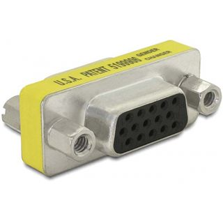 DeLock Adapter Gender Changer VGA Buchse-Buchse