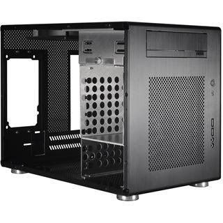 Lian Li PC-Q08B Wuerfel ohne Netzteil schwarz