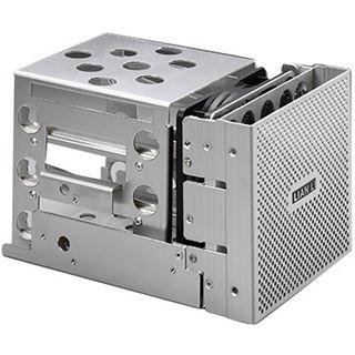 "Lian Li silberner Festplattenkäfig für 3x 3.5"" Festplatten (EX-33A1-P)"