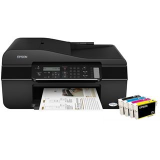 Epson Stylus Office BX305F Multifunktion Tinten Drucker 5760x1440dpi USB2.0