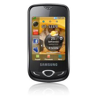 Samsung Corby 3G S3370 silver chrome