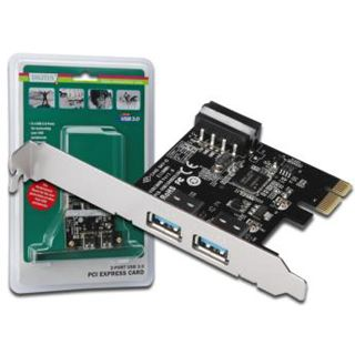 Digitus PCI-E Karte USB3.0 2-Port