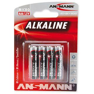 ANSMANN Alkaline AAA / Micro Alkaline 1.5 V 4er Pack