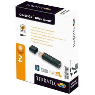 TerraTec TV-Tuner TerraTec Cinergy T-Stick Black USB 2.0 mit FB