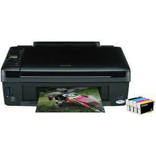 Epson Stylus InkJet SX420W Multifunktion Tinten Drucker 5760x1440dpi WLAN/LAN/USB2.0