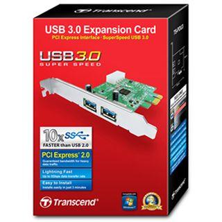 Transcend PDU3 2 Port PCIe x1 interner Stromanschluss retail