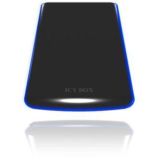 "2.5""(6,35cm) Icy Box IB-271StU-B SATA USB2.0 Schwarz"