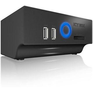 Icy Box HD Dockingstation IB-115StUS2HC SATA=>USB/eSATA