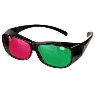 Hama Farbfilterbrille für 3D-Filme Magenta/Grün
